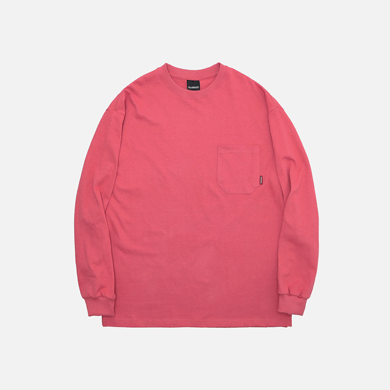 UNISEX Overfit Pocket Tee-Pink-F.ILLUMINATE
