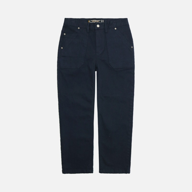 UNISEX Grainy Fatigue Pants-Navy-F.ILLUMINATE