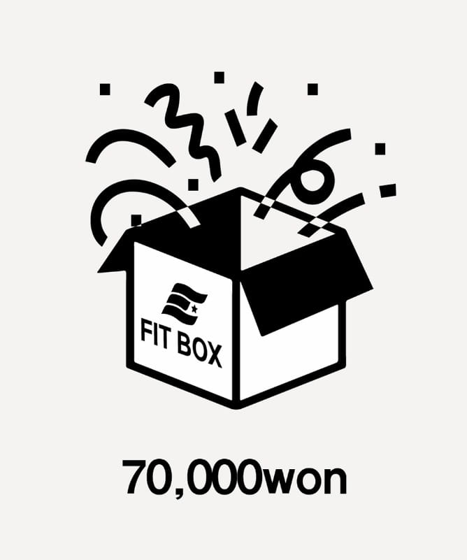 FIT BOX 70,000won-F.ILLUMINATE