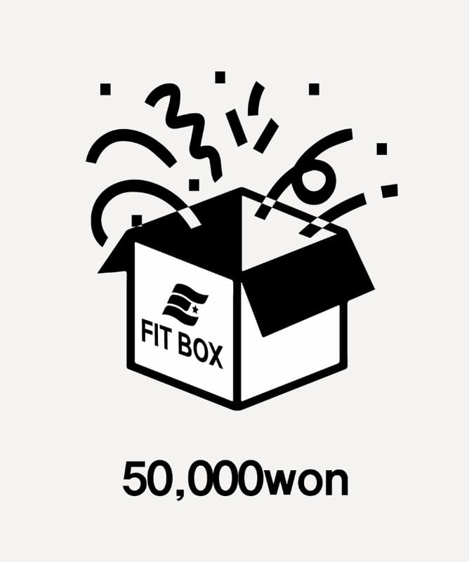 FIT BOX 50,000won-F.ILLUMINATE