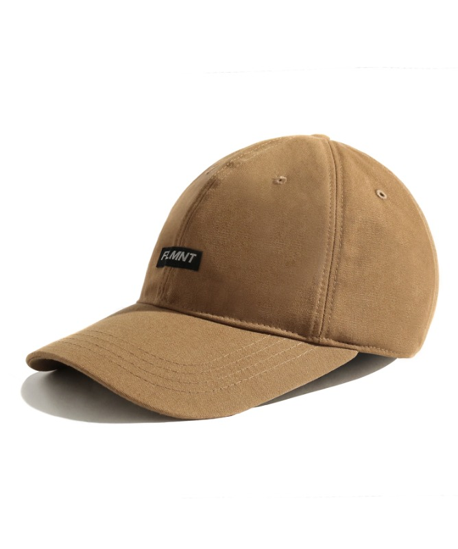 Unisex Shorten Logo Ball Cap-Beige-F.ILLUMINATE