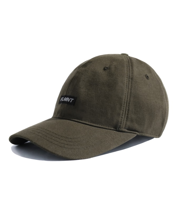 Unisex Shorten Logo Ball Cap-Khaki-F.ILLUMINATE